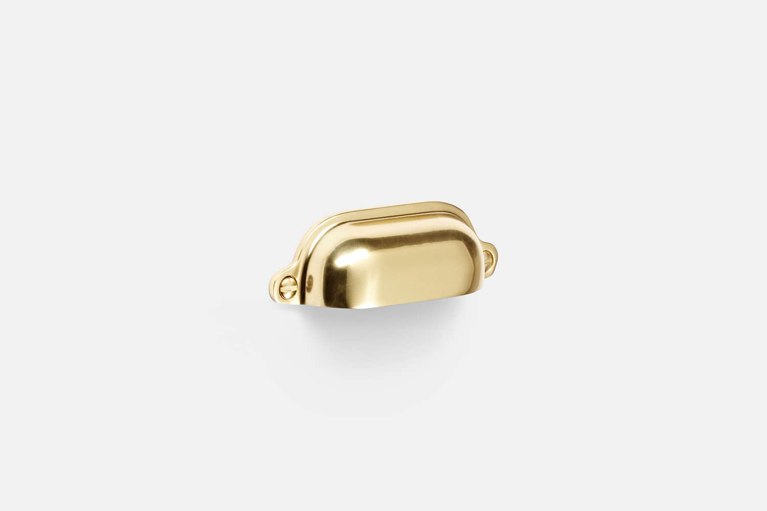 10 Easy Pieces Favorite Cabinet Pulls From Rejuvenation, the Vernon Bin Pull in Aged Brass is \$\10. The pull comes in a range of finishes.