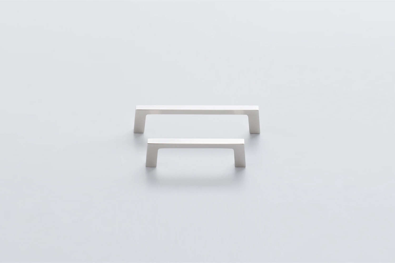 10 Easy Pieces Favorite Cabinet Pulls The Schoolhouse Greenwood Pull in Satin Nickel is \$\20 each.