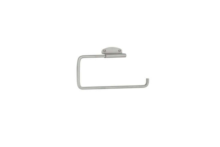 the interdesign forma swivel paper towel holder in brushed stainless steel is \ 9