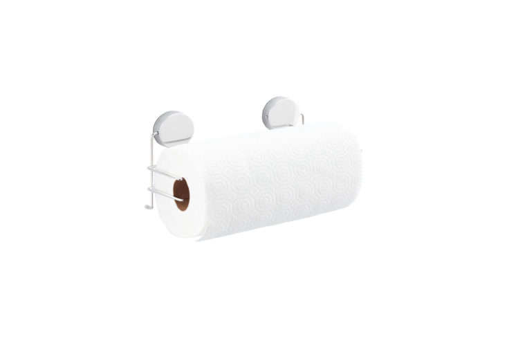 the magnetic stainless steel paper towel rack is \$\17.99 at the container stor 17