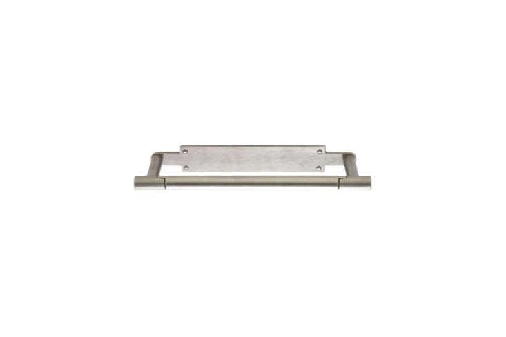the rocky mountain tube horizontal paper towel holder, shown in white bronze wi 16