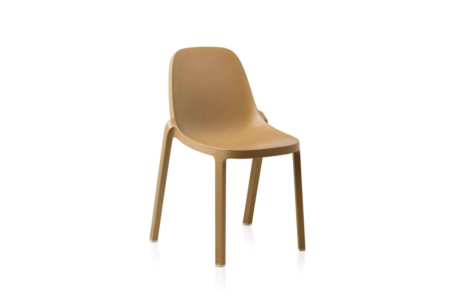 the emeco broom stacking chair is \$\2\25. 12