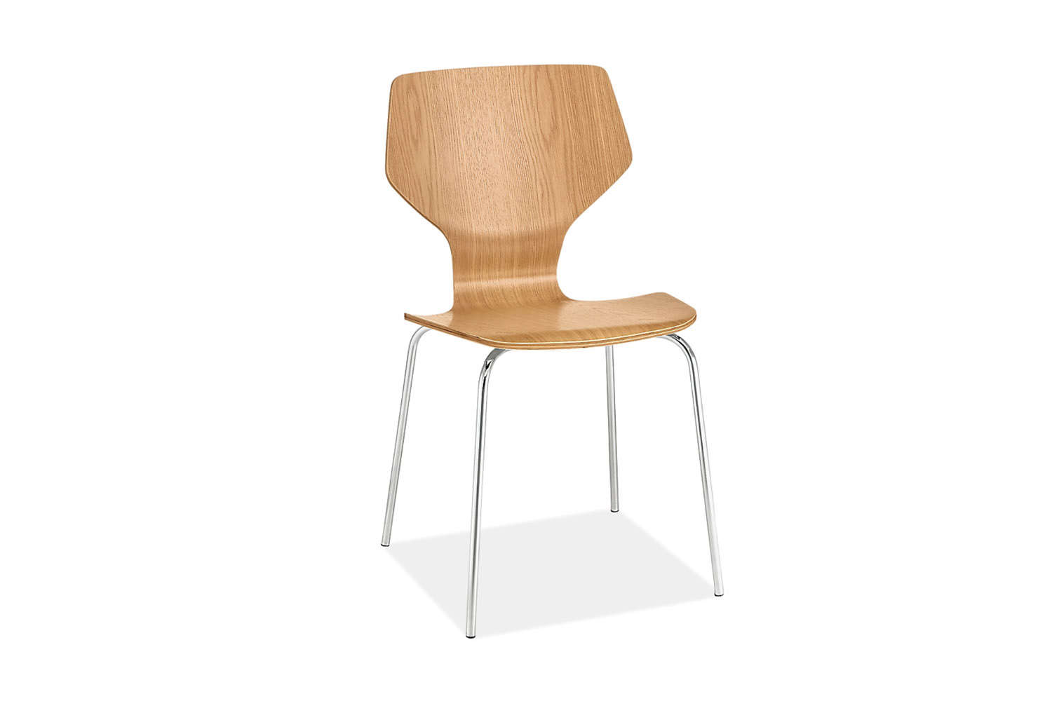 the room & board pike chair in wood is \$\149. 15