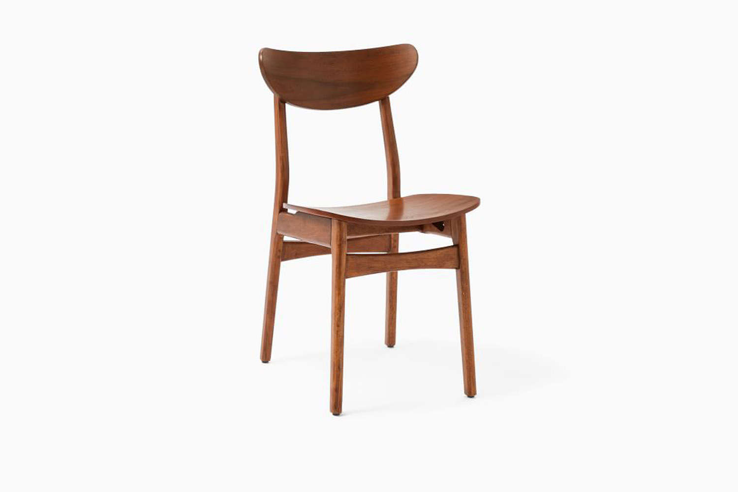 the west elm classic cafe dining chair ranges from \$99 to \$\199. 10