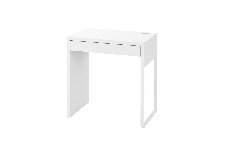 The Ikea Micke Desk in white is $49.