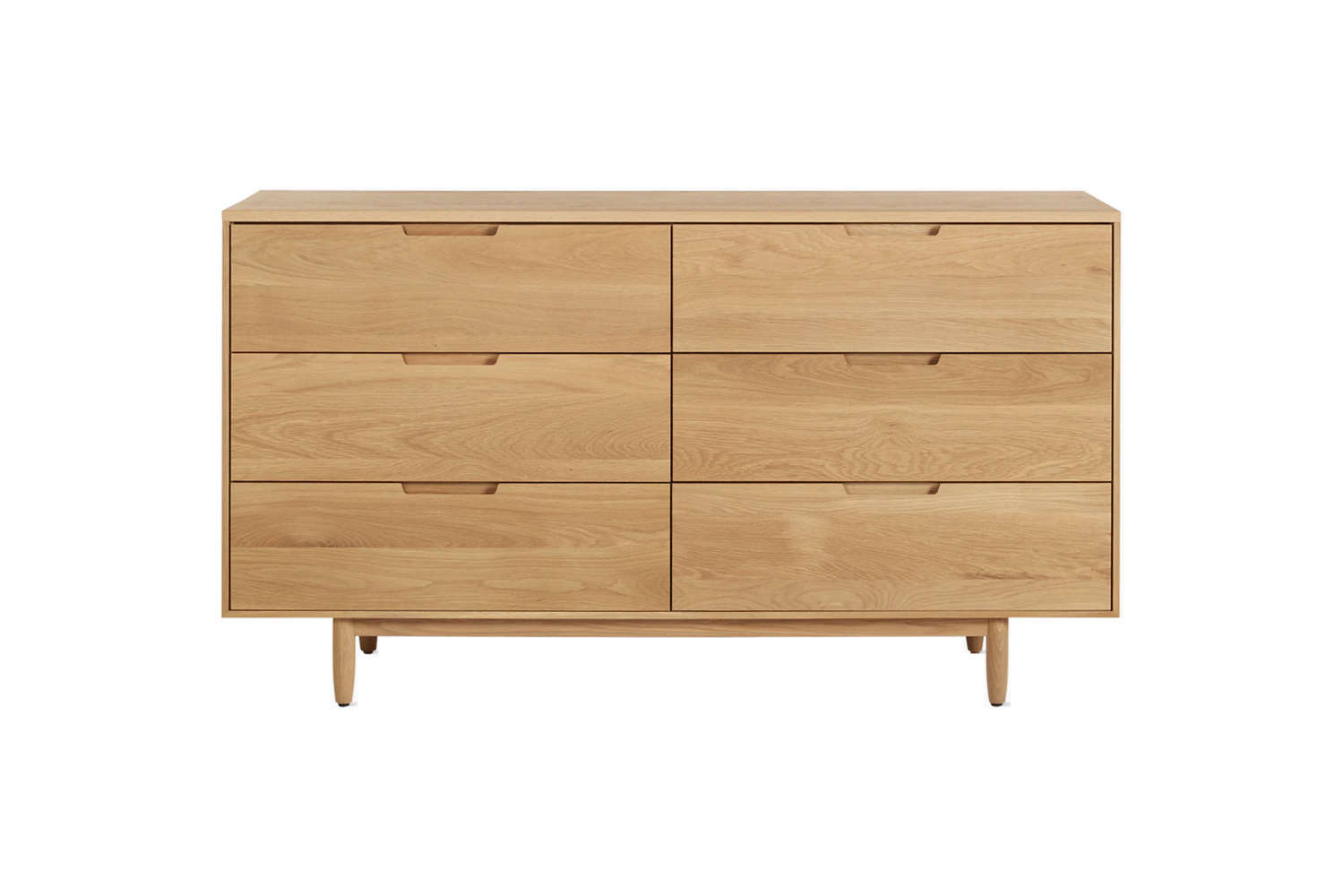From Design Within Reach, the Raleigh Dresser is available in oak and walnut starting at $3,795.