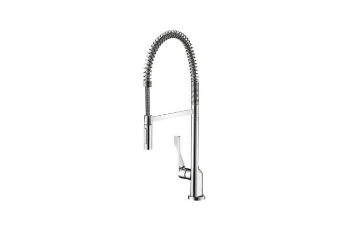 Designed by architect Antonio Citterio, the Axor Citterio Semi-Pro Kitchen Faucet (3984000loading=