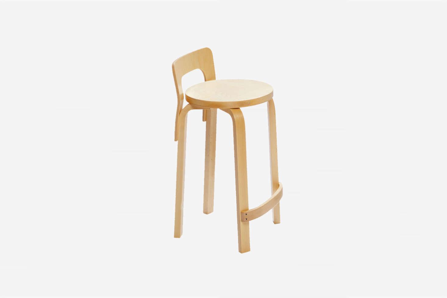The Artek Aalto High Chair K65 in Birch is $44src=