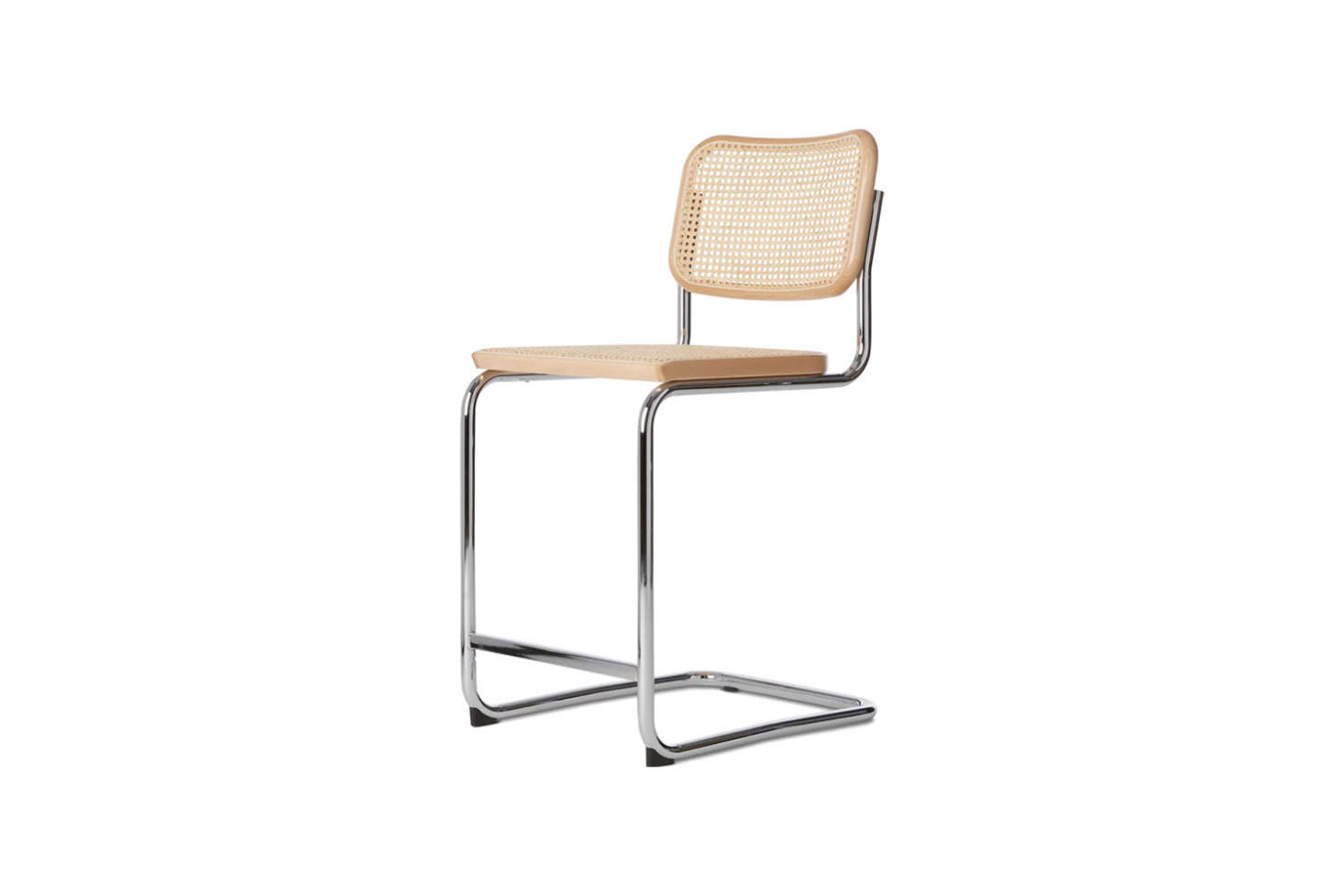 The Cesca Counter Stool in black or natural wood is $src=