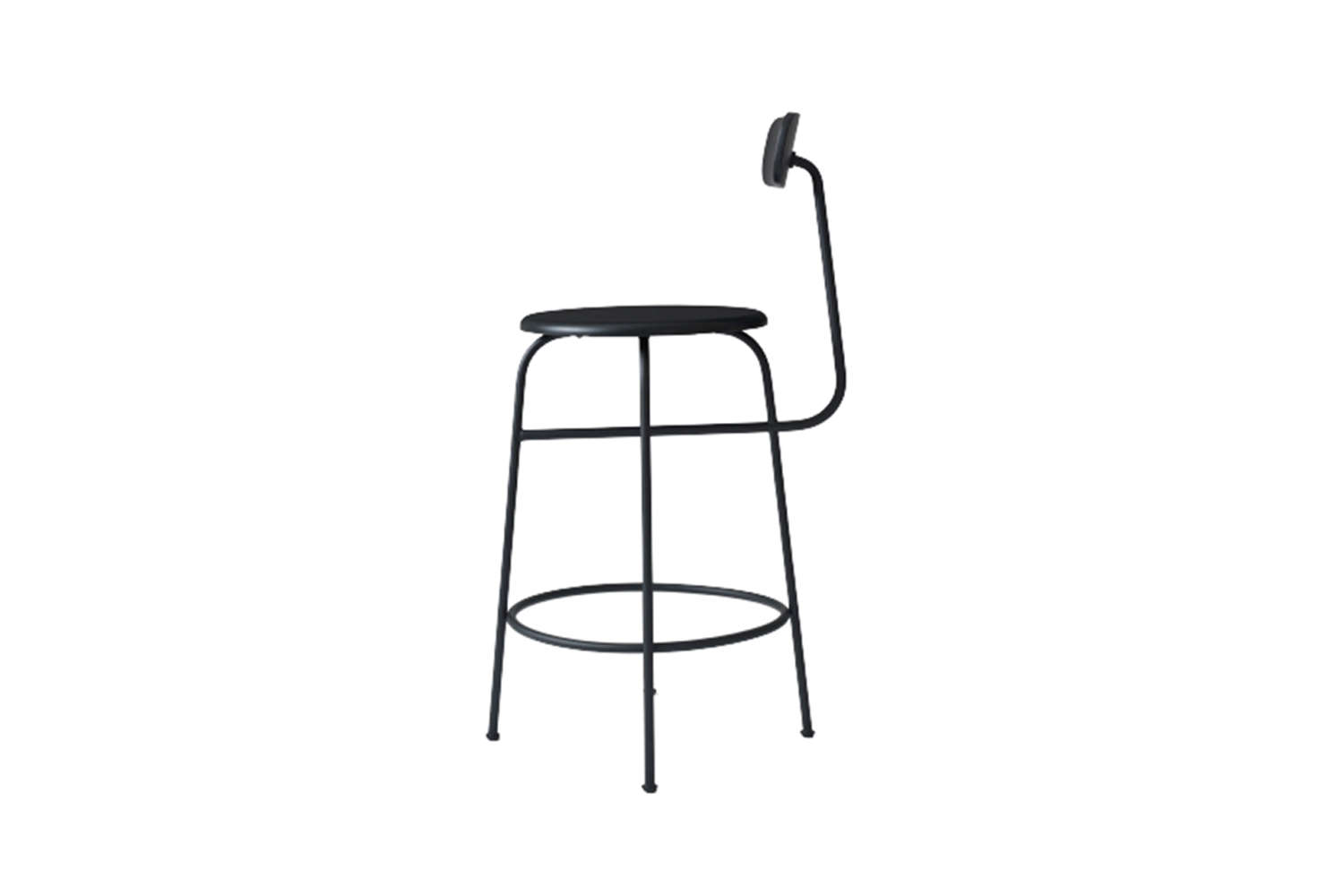 the menu afteroom counter chair in black is \$373 at finnish design shop. 13