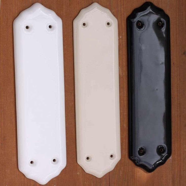 Traditional ceramic fingerplates