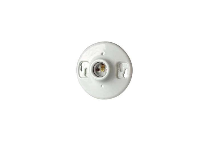 the basic leviton porcelain lampholder is \$\2.99 at ace hardware. 13