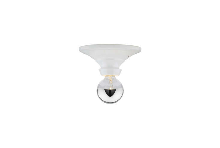 the hannah bare bulb, shown in white,is \$\149 at rejuvenation. 17