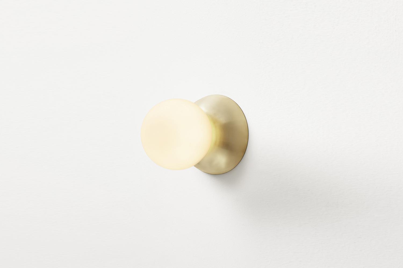 10 Easy Pieces Classic Modern Bath Sconces The Atelier de Troupe Perle Sconce is \$595.