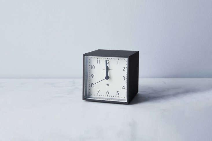 The Newgate Clocks Cubic Alarm Clock in black is $48 at Food5