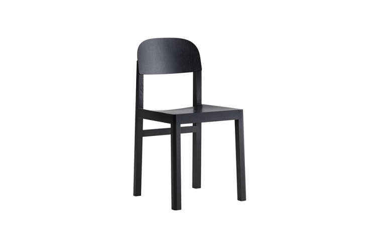 the muuto workshop chair in black was designed by cecile manz. it&#8\2\17;s 13