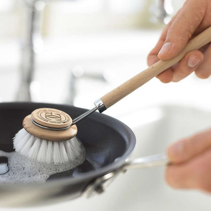 The German-made Maier Nonstick Pan Cleaning Brush is $4.50 from Williams Sonoma.