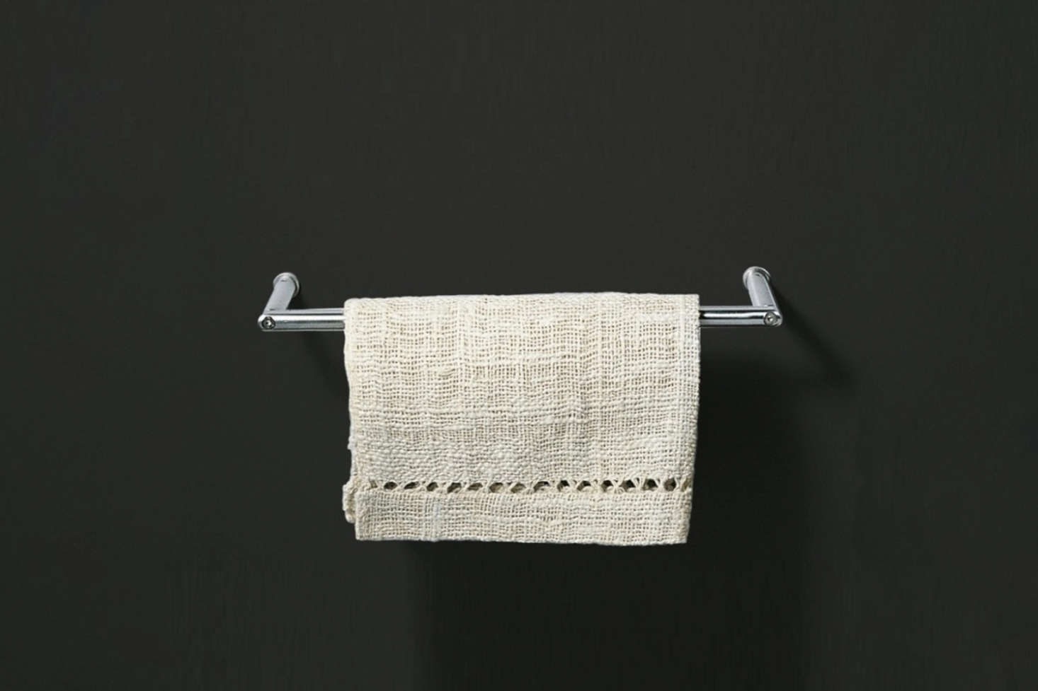 Desinged by Giulio Gianturco for Boffi, the Minimal Towel Holder is available at Milia Shop. Contact for price adn ordering information.
