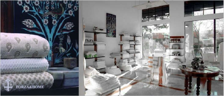 Above: Forza & Home, located on Fourth Street in Berkeley, CA, is an importer of 0 percent organic cotton Turkish towels; go to Forza for pricing and ordering information.