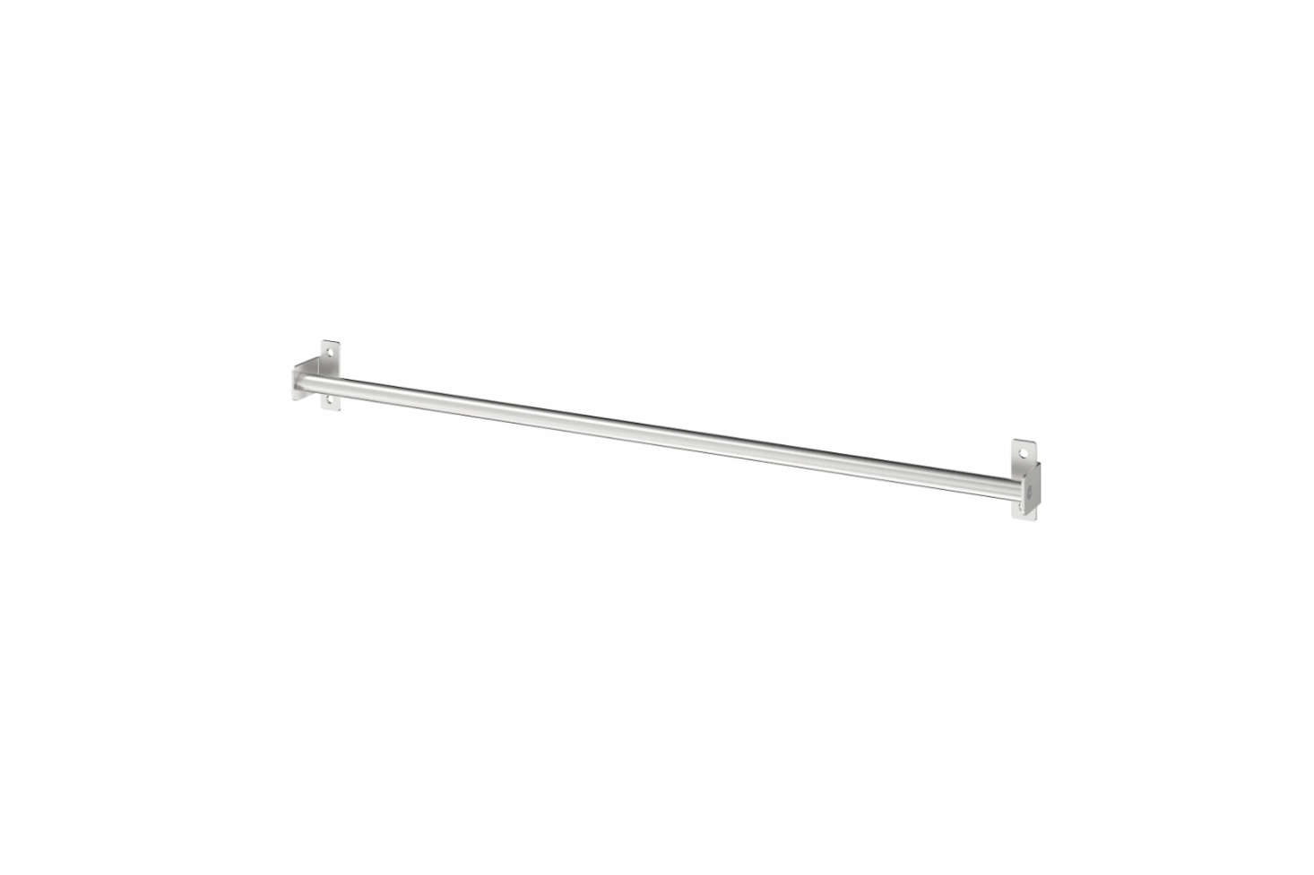 The always-affordable Ikea offers the Kungsfors Rail in Stainless Steel for $5.99.