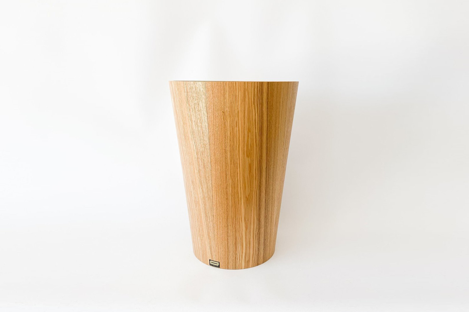 The Large Ash Wood Waste Basket is $5 at Tortoise General Store.