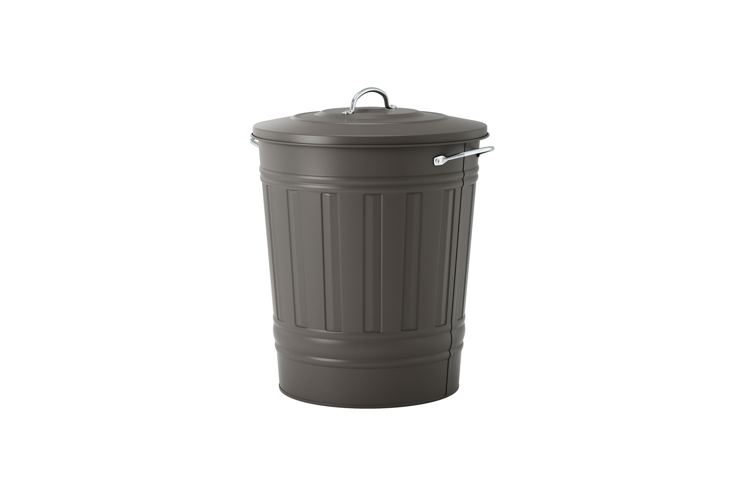 The IKEA Knodd Bin with Lid Gray is a longtime Remodelista favorite for style and affordability. It&#8