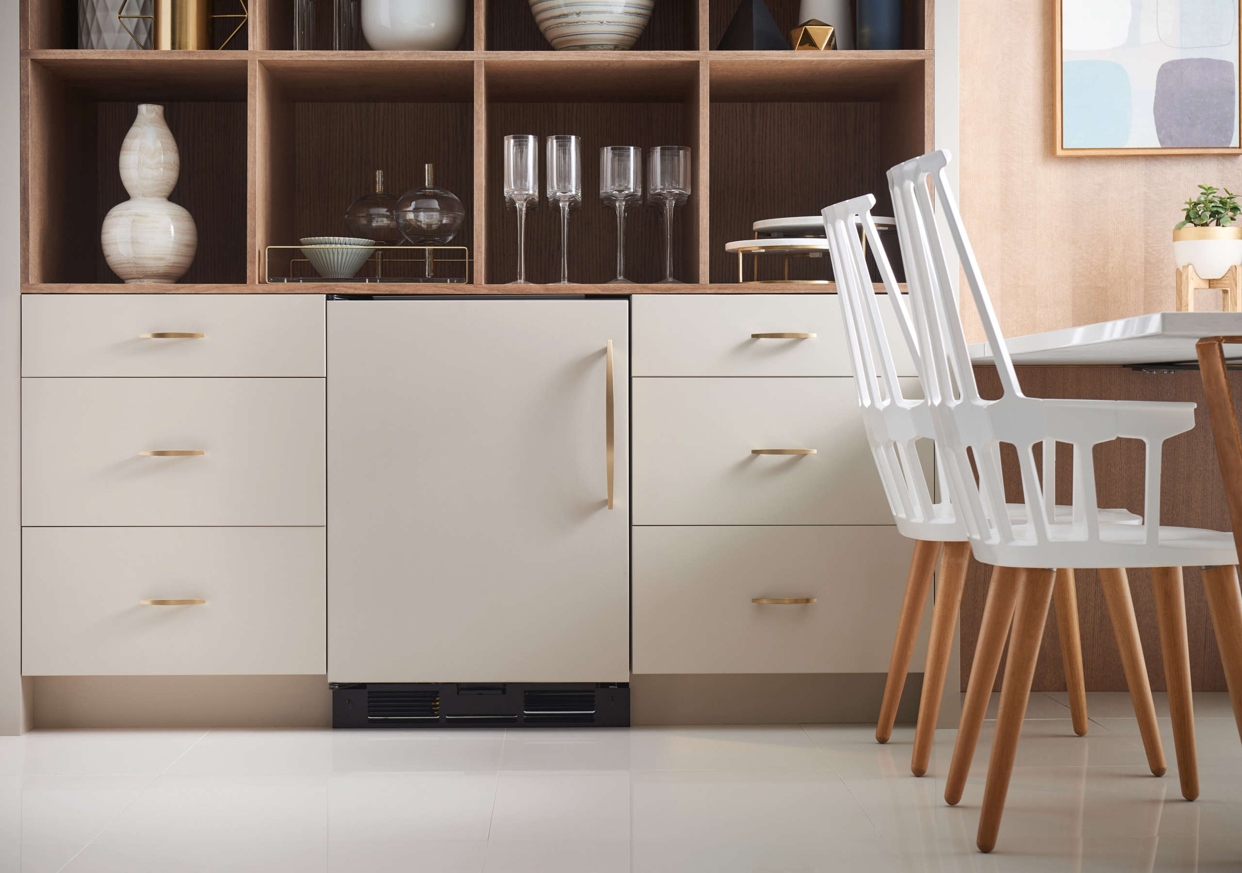 10 Easy Pieces Choosing An Undercounter Refrigerator The Subzero \24 Inch Panel Ready Undercounter Refrigerator is \$\2,\255 at Subzero dealers.
