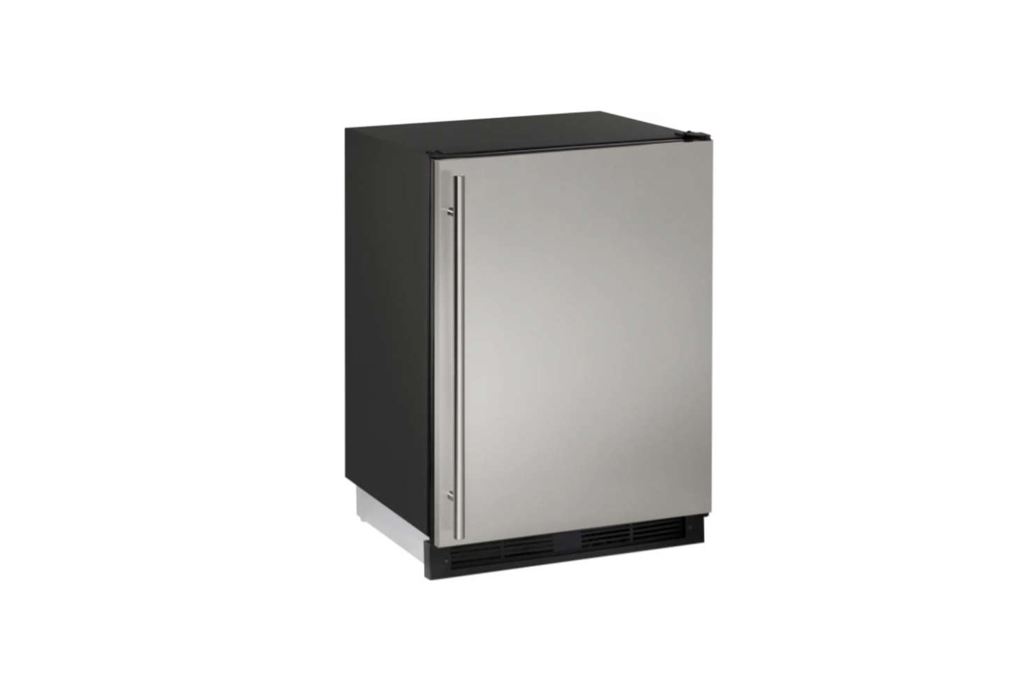 The Uline Stainless Steel Undercounter Compact Refrigerator (Udata-src=