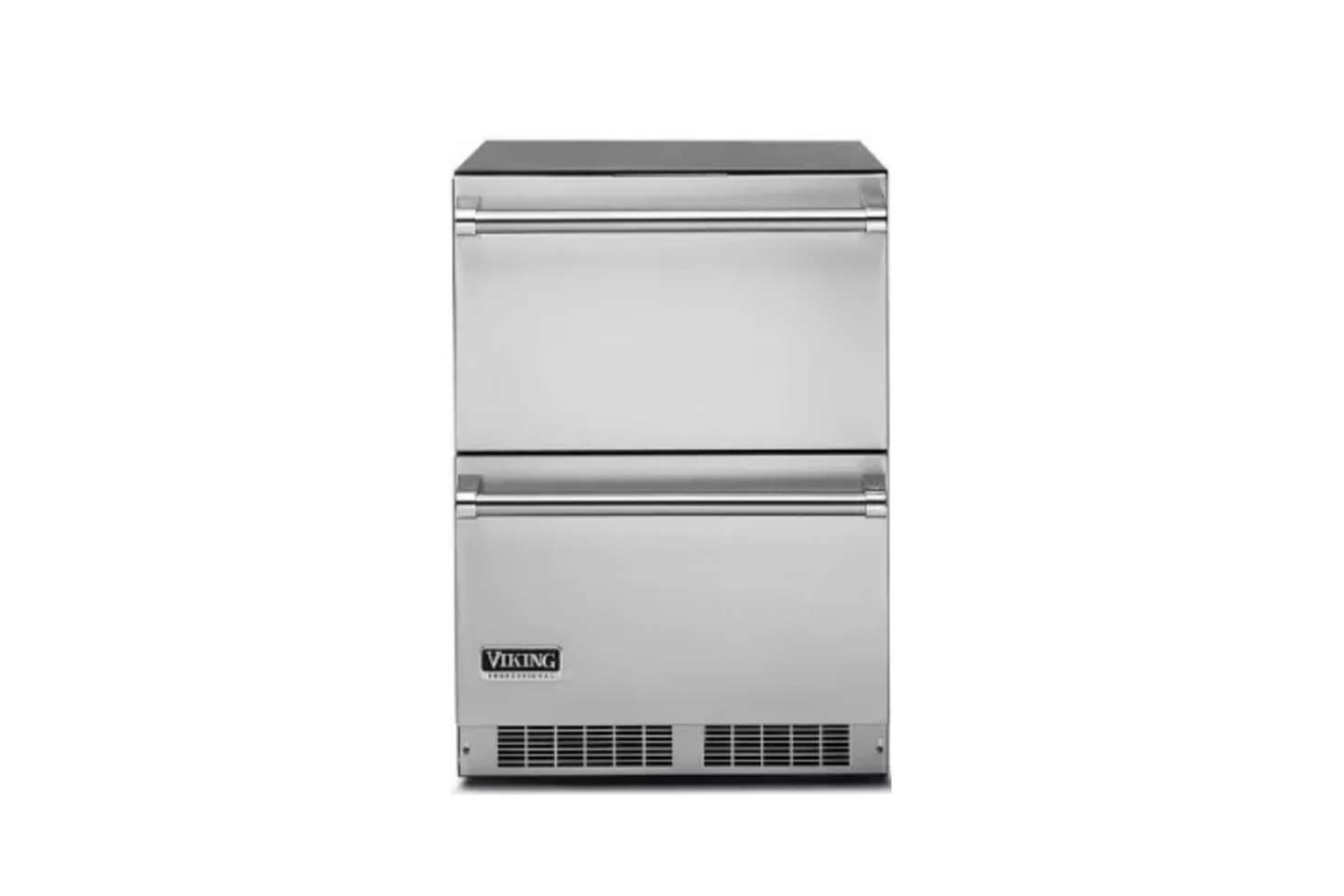 The Viking 5 Series (VDUI50DSS)  Inch Undercounter Refrigerator Drawers are $3,499 at AJ Madison.