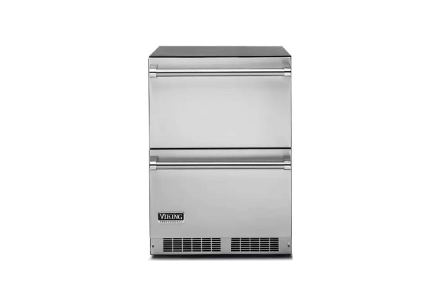 10 Easy Pieces Choosing An Undercounter Refrigerator The Viking 5 Series (VDUI5\240DSS) \24 Inch Undercounter Refrigerator Drawers are \$3,499 at AJ Madison.