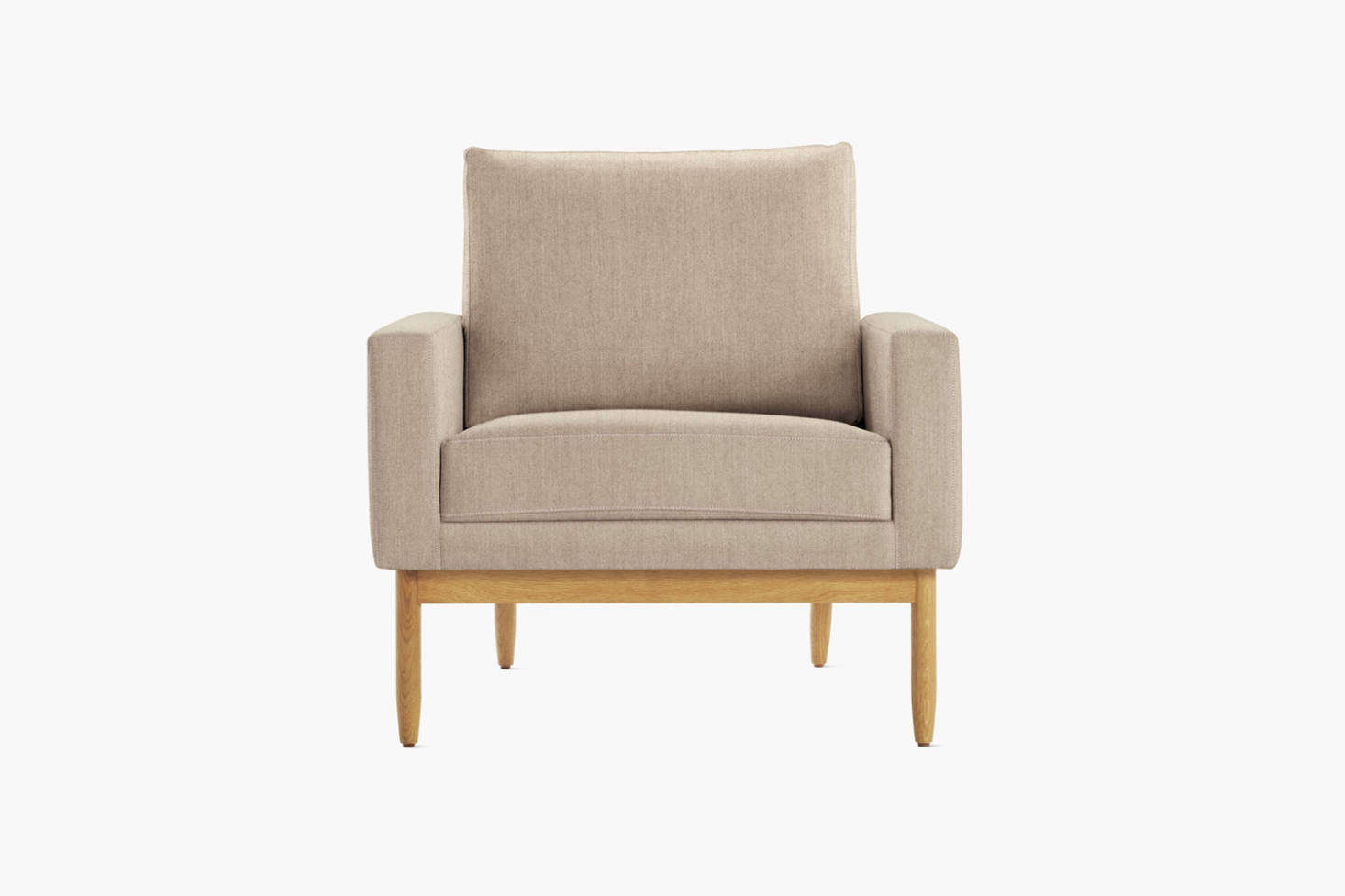 Inspired by midcentury Danish design, the Raleigh Armchair is $4,095 at Design Within Reach.