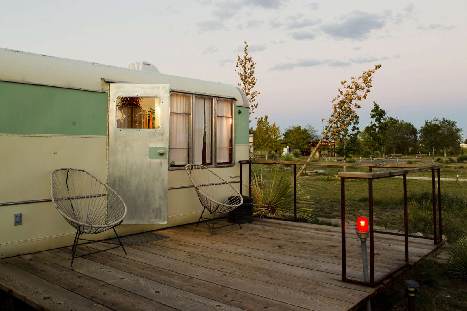 El Cosmico Hotel in Marfa, Texas