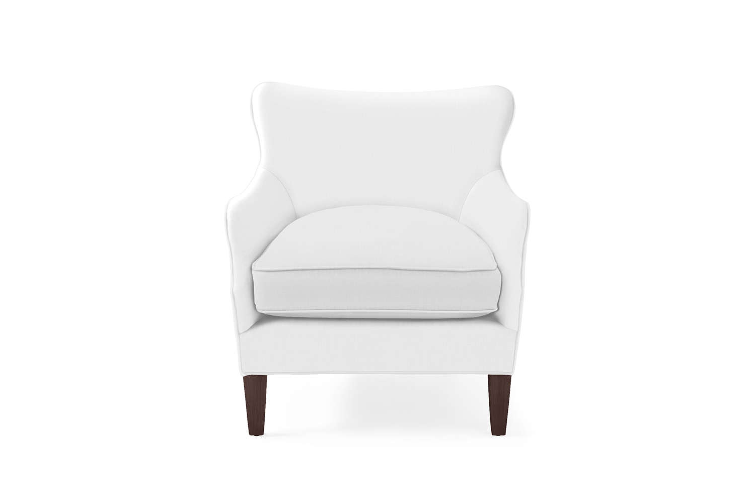 The Serena & Lily Elm Chair is an update on the classic wingback style; $