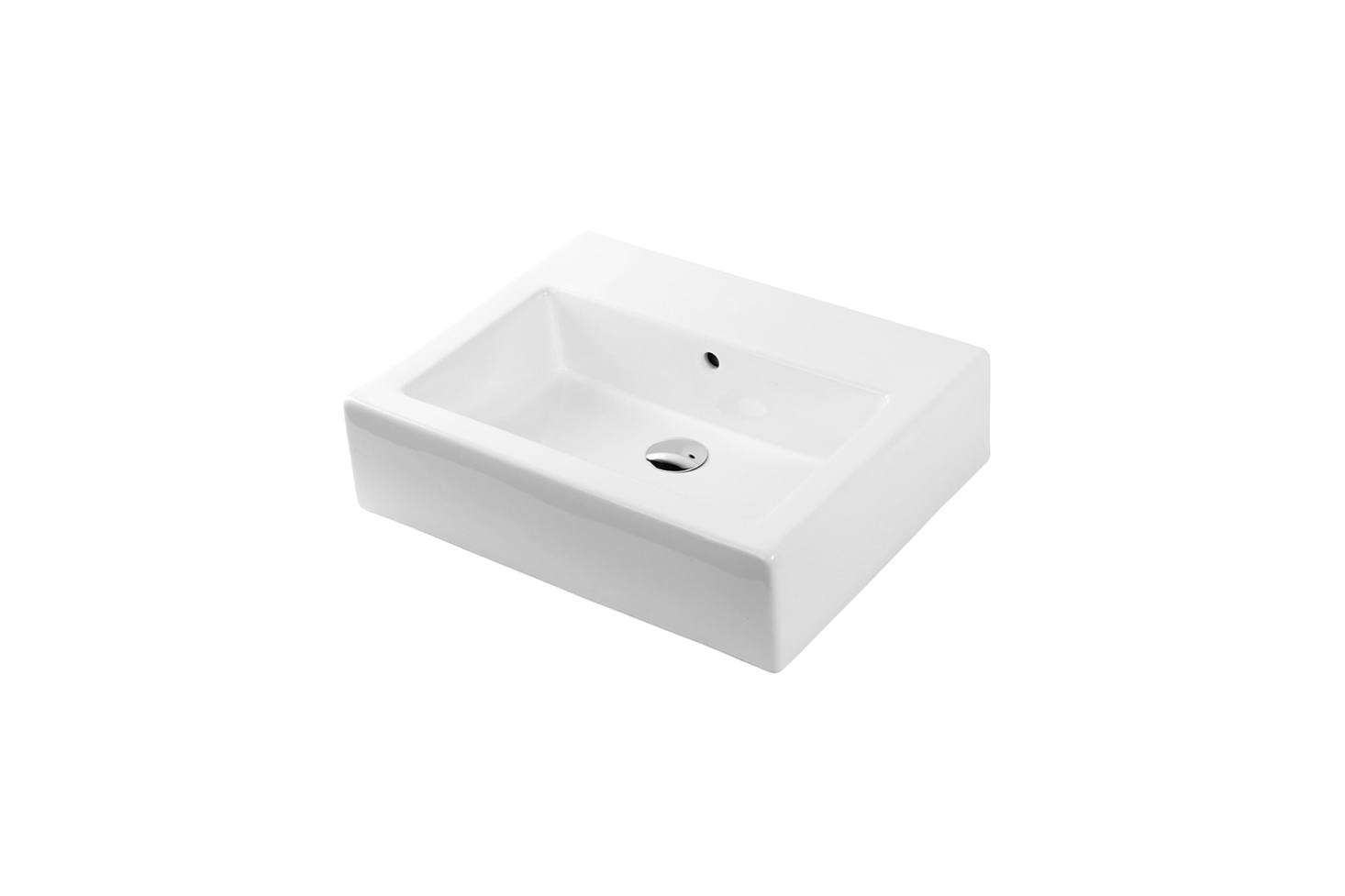 The Lacava Aquagrande Wall-Mount Sink #5464 is available at Lacava directly; contact for price and ordering information.