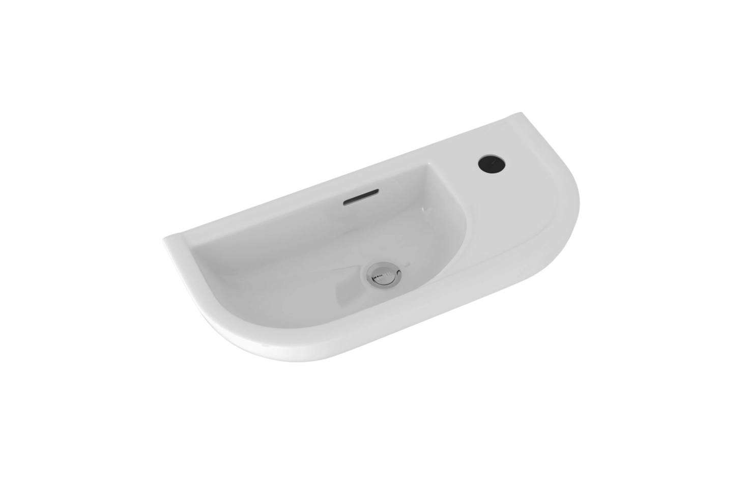 The Rohl Allia Wall-Mount Bath Basin is $8. from Quality Bath.