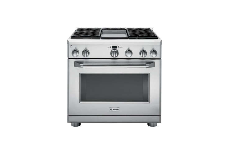 the highly ratedge monogram 36 inch stainless steel dual fuel professional ra 19