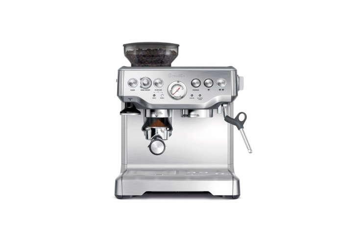 the breville barista express espresso machine is \$5\29.95 from amazon. 10