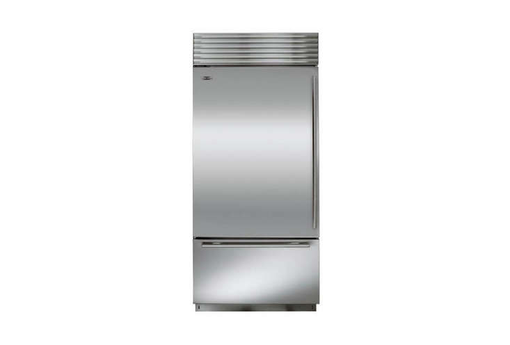 Sub-Zero is the standard-bearer of high-end refrigerators, with dual compressors (separate cooling units for the freezer and the refrigerator provide control over temperature and humidity, and prevent freezer burn). The latest models are Energy Star–rated and feature an airier interior with brighter lighting. TheSub-Zero BI-36U 36-Inch Built-In Bottom-Freezer Refrigerator, shown here, starts at $,075 in stainless steel; it&#8
