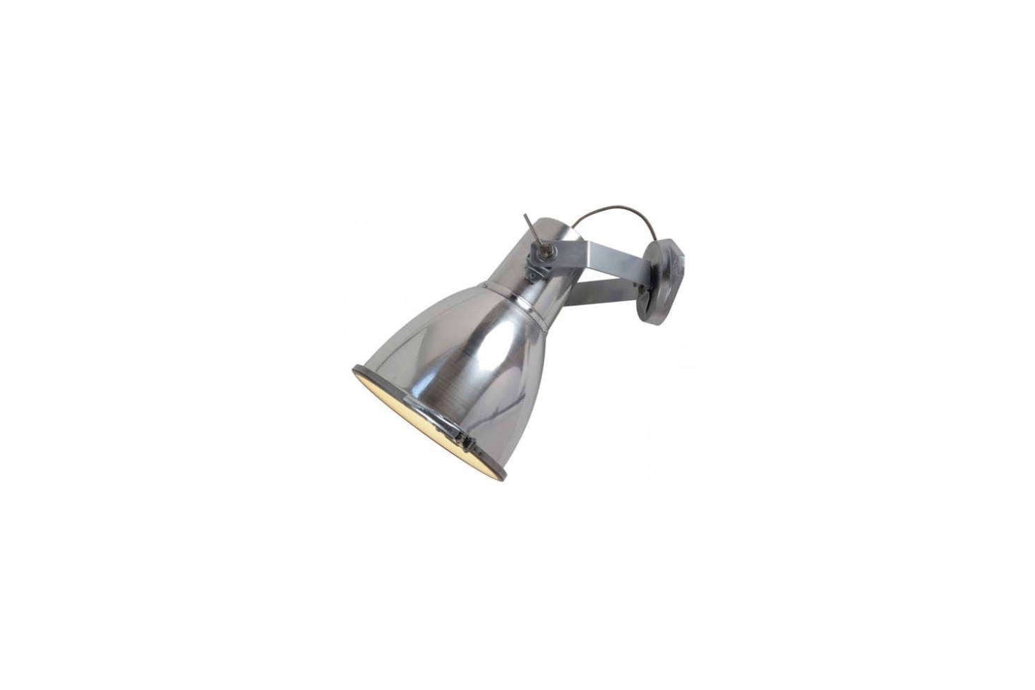 The Original BTC Stirrup 3 Wall Sconce comes in Black or Natural Aluminum (shown) for $885 each at Lightology.