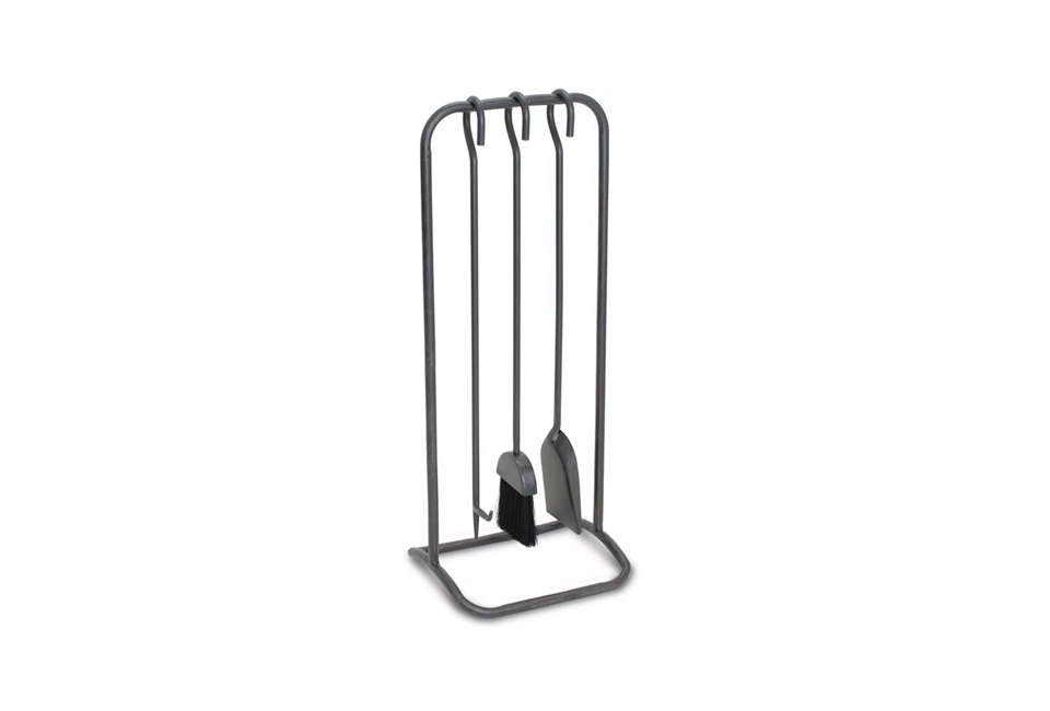 the woodland fireplace tool set is made of hand forged natural iron; \$\169.95  19