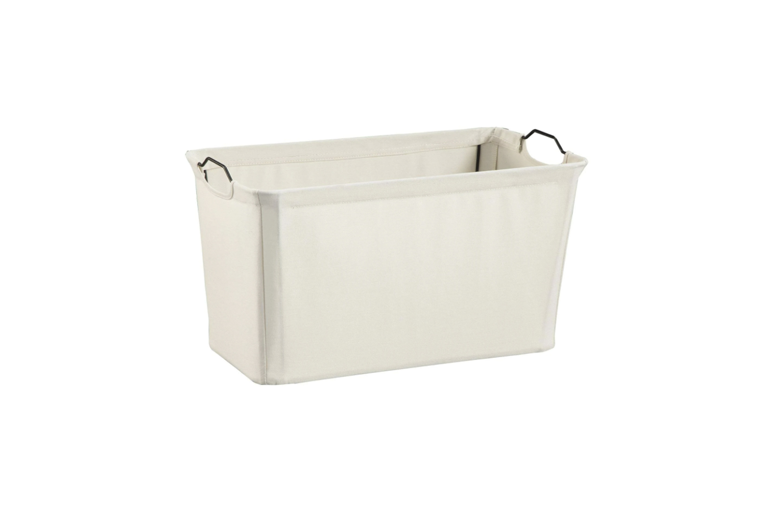 the closetmaid \16\2\2 wide wire frame fabric bin is \$\18.89 at overstock. 12