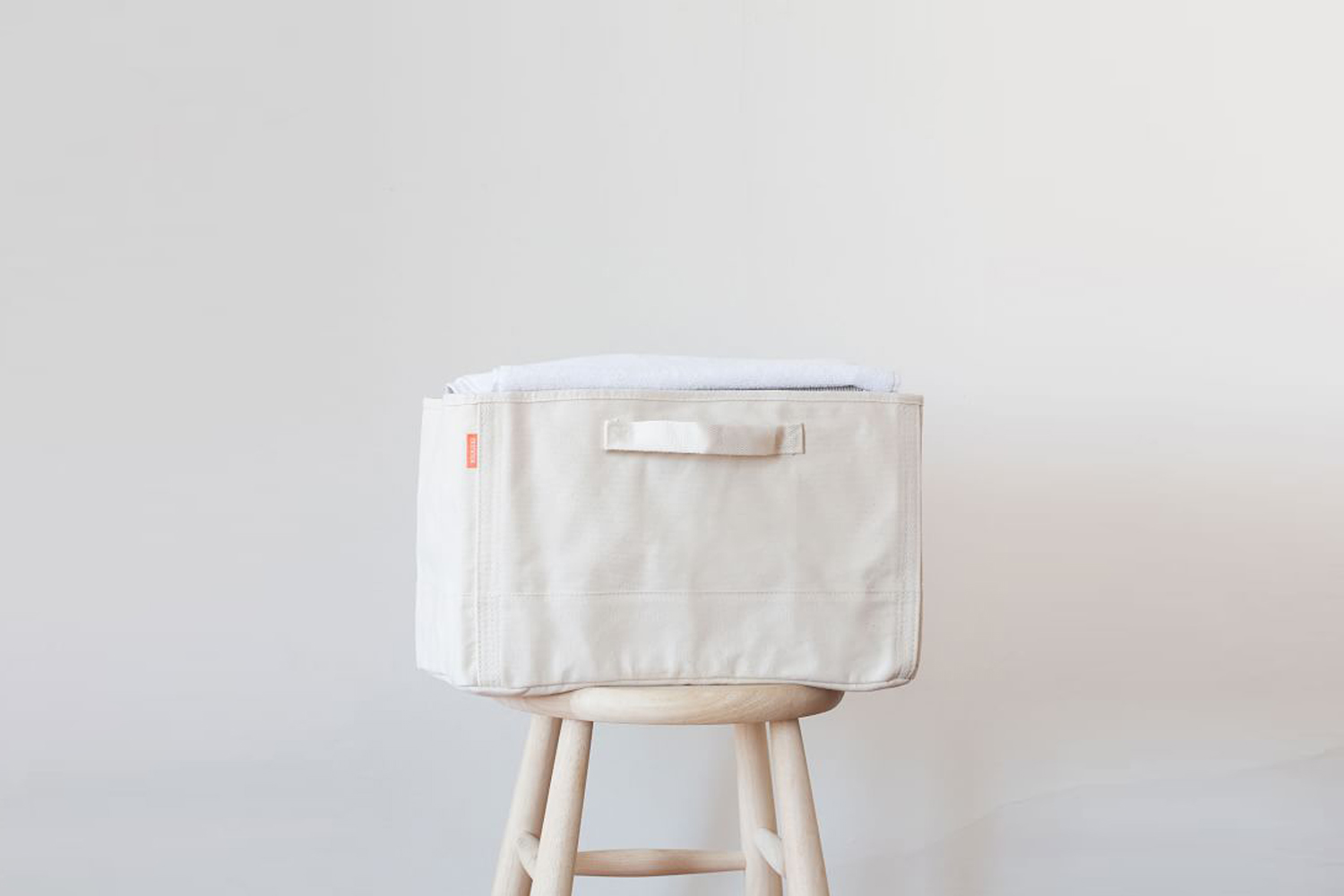 the canvas tub natural storage basket is \$59 at pottery barn. 11