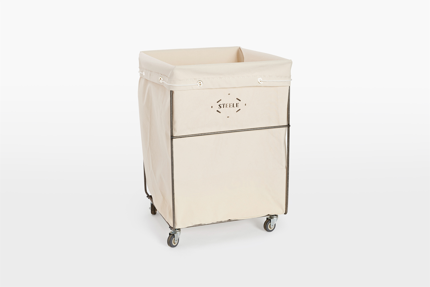 the steele canvas hamper with removable liner is \$\149 at rejuvenation. 9