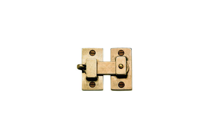 The Rocky Mountain Hardware Cabinet Latch CL0 is available in  different finishes (shown in Silicon Bronze Light). Contact Rocky Mountain Hardware for pricing and more information.