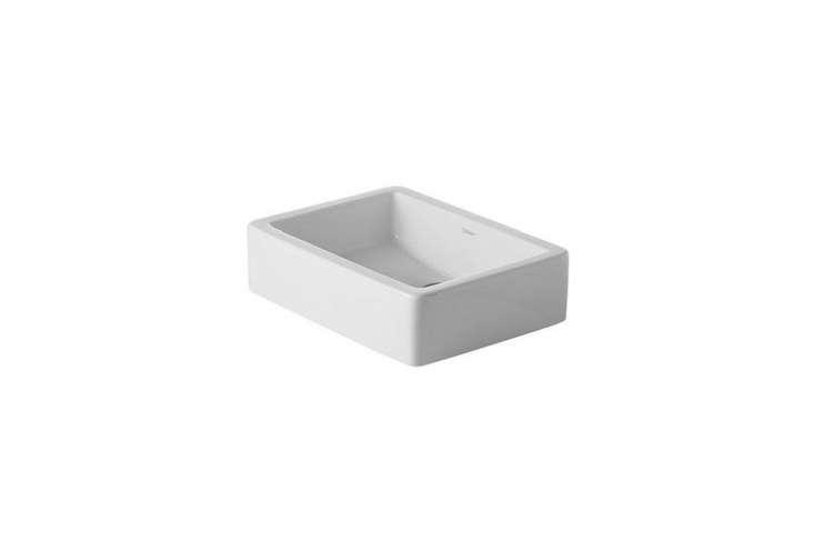 the duravit vero \19 5/8 inch washbasin in white is \$4\17.98 on amazon. 13