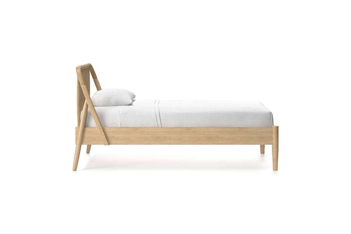 The Bodie Oak Spindle Bed starts at $src=