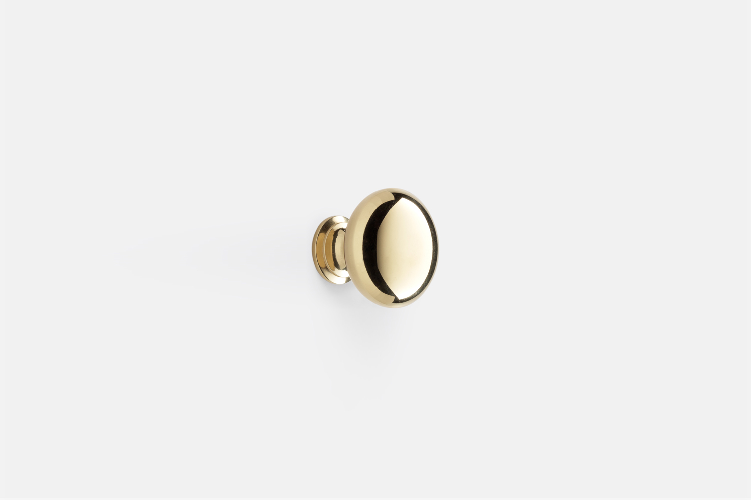 the massey round cabinet knob, shown in unlacquered brass, is \$\1\2. 15