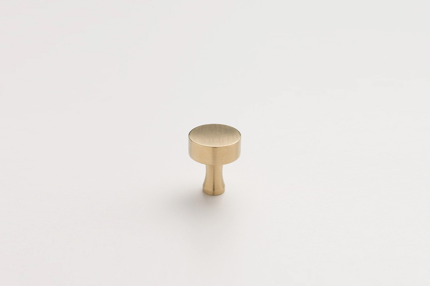 the schoolhouse riverwood knob, shown in natural brass, is \$\18. 9
