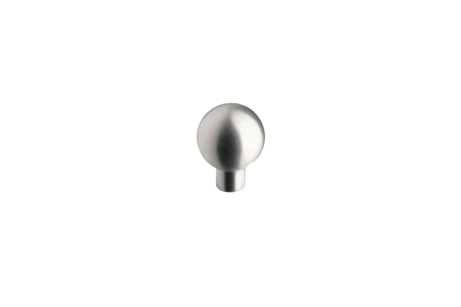 the siro designs classic stainless steel round knob is \$4.46 at my knobs. 17