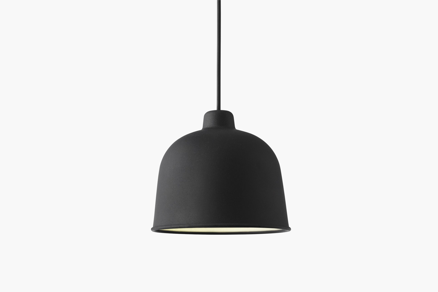 From Muuto, the Grain Pendant Light in black is $9 at Design Within Reach.